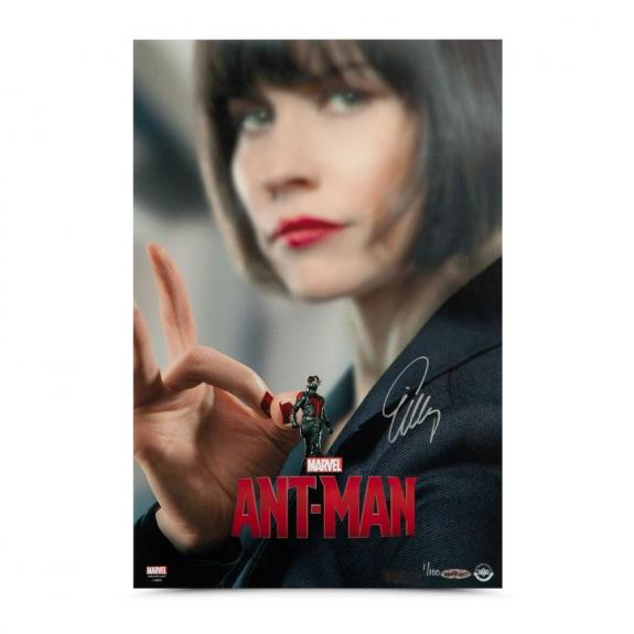 Evangeline Lilly Autographed Ant-Man 12 x 18 Poster - Upper Deck