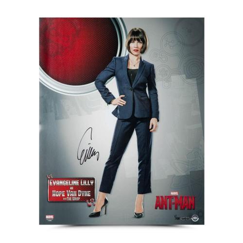Evangeline Lilly Autographed Ant-Man Hope van Dyne 16 x 20 - Upper Deck