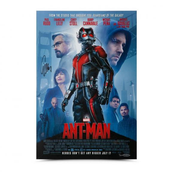 Evangeline Lilly Autographed Ant-Man Poster 13 x 19 - Upper Deck