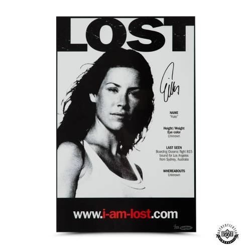 Evangeline Lilly Autographed Lost 11 x 17 Poster - Upper Deck