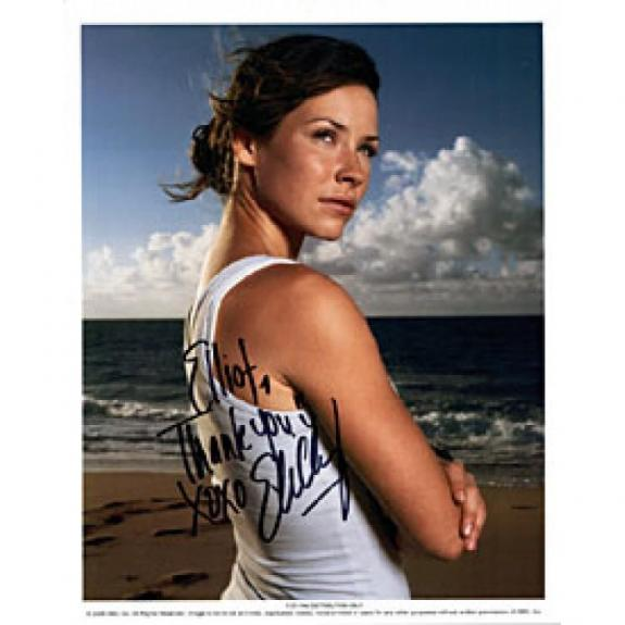 """Evangeline Lilly Autographed """"Lost"""" Celebrity 8x10 Photo"""