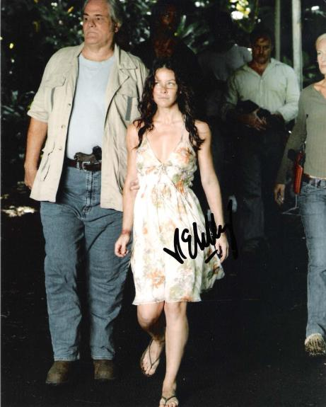 "EVANGELINE LILLY Best Known for her Role as KATE AUSTEN in ""LOST"" Signed 8x10 Color Photo"