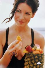Evangeline Lilly Signed 12x18 Photo Autographed PSA/DNA #X11803