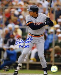 "Darrell Evans Detroit Tigers Autographed 8"" x 10"" Photograph with ""414 HRs"" Inscription - Mounted Memories"