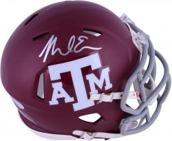 Mike Evans Texas A&M Aggies Autographed Riddell Mini Helmet