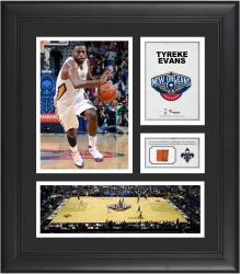 "Tyreke Evans New Orleans Pelicans Framed 15"" x 17"" Collage with Team-Used Ball"