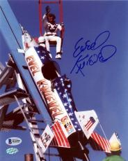 Evel Knievel Authentic Autographed Signed 8x10 Photo Beckett BAS Certified