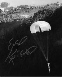 """Evel Knievel Autographed 8"""" x 10"""" Snake River Photograph"""