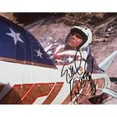 Evel Knievel Autographed Celebrity Photo