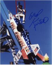 "Evel Knievel Autographed 8"" x 10"" Sky Rocket Photograph"
