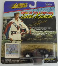 Evel Knievel Autographed Signed 1998 Johnny Stuntman Die-cast Car Beckett
