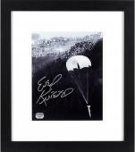 "Evel Knievel Framed Autographed 8"" x 10"" Snake River Photograph"