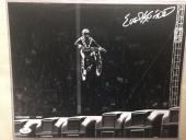 EVEL KNIEVEL signed 11x14 Photo Daredevil Rare Image JSA COA