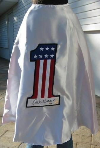 Evel Knievel signed Cape Motorcycle Daredevil PSA/DNA autographed