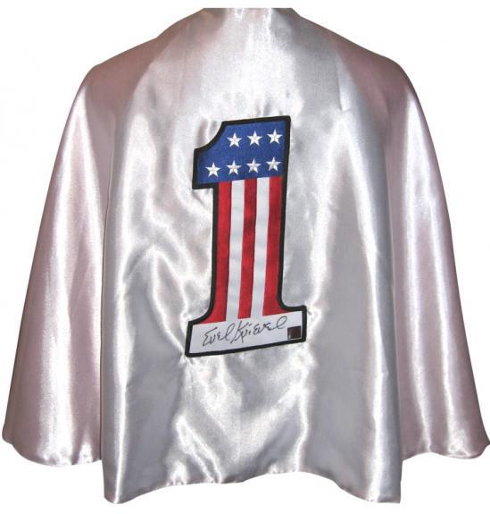 Evel Knievel Signed Full Size Cape
