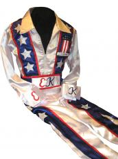 Evel Knievel Signed Full Size Jumpsuit