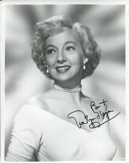 EVELYN KEYES HAND SIGNED 8x10 PHOTO+COA     GREAT ACTRESS    GONE WITH THE WIND