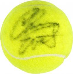 Chris Evert Autographed US Open Logo Tennis Ball