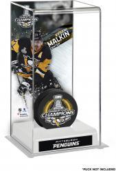 Evgeni Malkin Pittsburgh Penguins 2016 Stanley Cup Champions Logo Deluxe Puck Case