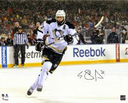 "Evgeni Malkin Pittsburgh Penguins Autographed 2014 Stadium Series 16"" x 20"" Photograph"