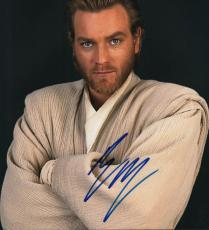 Ewan McGregor Autographed Signed 11x14 Star Wars Photo AFTAL