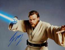 Ewan McGregor Autographed STAR WARS 11x14 Photo