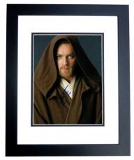 Ewan McGregor Signed - Autographed STAR WARS 11x14 inch Photo BLACK CUSTOM FRAME - Guaranteed to pass PSA or JSA - Obi-Wan Kenobi