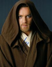 Ewan McGregor Signed - Autographed STAR WARS 11x14 inch Photo - Guaranteed to pass PSA or JSA - Obi-Wan Kenobi