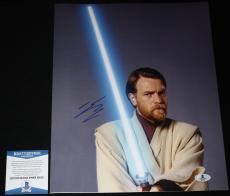 Ewan McGregor signed 11 x 14, Star Wars, Trainspotting, Obi Wan, Beckett BAS