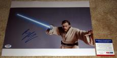 Ewan McGregor Signed 11x14 Obi-Wan Kenobi Star Wars PSA/DNA