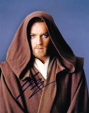 EWAN MCGREGOR SIGNED 8X10 PHOTO Obi-Wan Kenobi STAR WARS AUTOGRAPH COA D