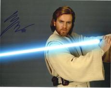 Ewan McGregor Signed - Autographed STAR WARS 11x14 inch Photo - Guaranteed to pass PSA or JSA with RARE Obi-Wan Kenobi inscription