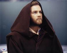 Ewan McGregor SIGNED 11x14 Photo Obi Wan Kenobi Star Wars PSA/DNA AUTOGRAPHED