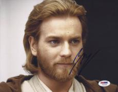 Ewan Mcgregor Signed 'star Wars' 8x10 Photo Autograph Obi Wan Kenobi Psa/dna Coa