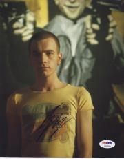 "Ewan Mcgregor Signed 'trainspotting' 8x10 Photo ""renton"" Autograph Psa/dna Coa"