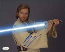 Ewan McGregor Star Wars Autographed Signed 8x10 Photo Certified JSA AFTAL COA