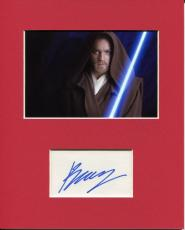 Ewan McGregor Star Wars Obi-Wan Kenobi Signed Autograph Photo Display