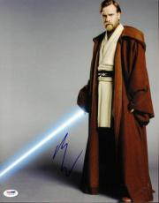 Ewan Mcgregor Star Wars Signed 11X14 Photo Autographed PSA/DNA #I61218