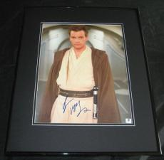 Ewan McGregor Star Wars Signed Framed 11x14 Photo Obi-Wan Kenobi