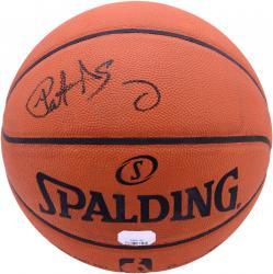 Patrick Ewing New York Knicks Autographed Pro Basketball