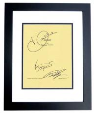 EXTANT Autographed Script by Halle Berry, Brad Beyer, and Goran Visnjic BLACK CUSTOM FRAME