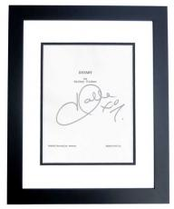 EXTANT Signed - Autographed Script Cover by Halle Berry BLACK CUSTOM FRAME