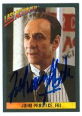 F Murray Abraham autographed card Last Action Hero #7 (IP)
