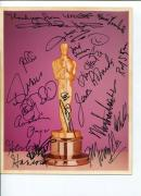 Signed John Mills Photo - F Murray Abraham Shelley Winters Peter Ustinov +14 JSA