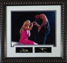 Faith Hill and Tim McGraw Replica Autographed Display