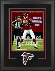 Atlanta Falcons Deluxe 16'' x 20'' Vertical Photograph Frame with Team Logo - Mounted Memories