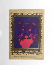 Family Dog Production Buffalo Springfield October 6-7 1967 Postcard FD# #D-5