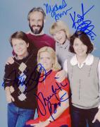 """Family Ties Autographed 8"""" x 10"""" Family Picture Photograph With Multiple Signatures - Beckett LOA"""
