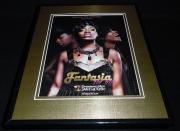 Fantasia For Real 2009 Framed 11x14 ORIGINAL Vintage Advertisement VH1