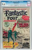 Fantastic Four #13 Cgc 9.6 Oww 1st Watcher Appearance  Cgc  #1039694001